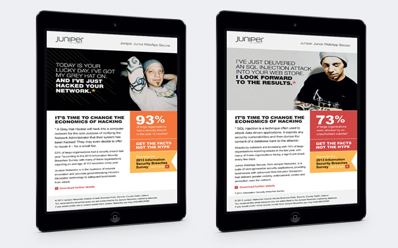 channel branding on iPad